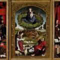 Froment. Triptyque du buisson ardent, ouvert (1476)