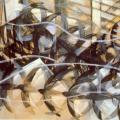Balla. Le vol des hirondelles, 1913