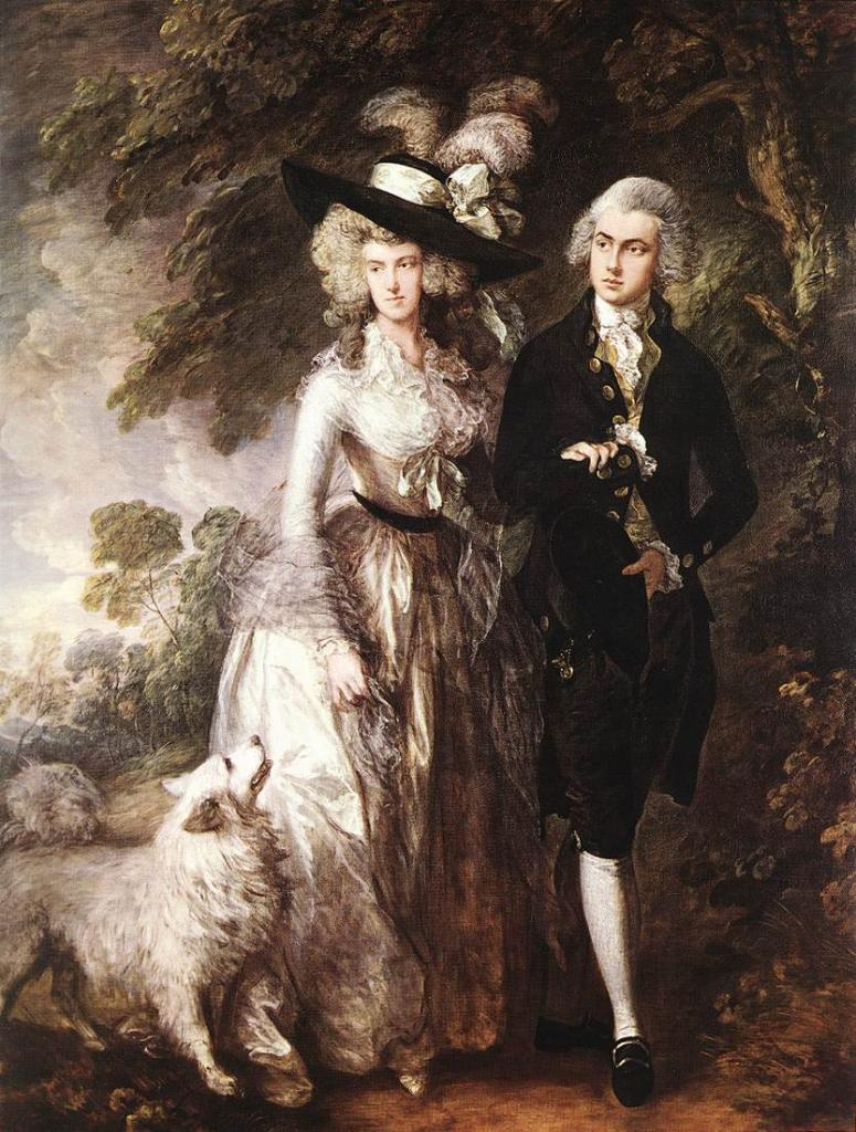 comparison of mr and mrs andrews paintings Mr and mrs andrews 1748-49 oil painting by thomas gainsborough, the highest quality oil painting reproductions and great customer service.