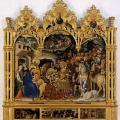 Gentile da Fabriano. L'adoration des Mages (1423)