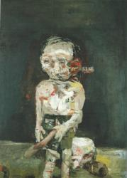 Georg Baselitz. La grande nuit foutue (1962-63)