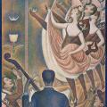 Georges Seurat. Le Chahut (1889-90)