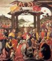Ghirlandaio. L'adoration des mages (1488)