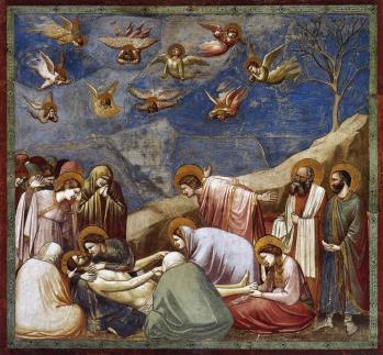 Giotto. La Lamentation sur le Christ mort (1303-05)