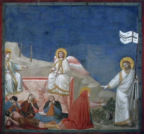 Giotto. Noli me tangere (1304-06)