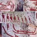 Häljesta. Pétroglyphes (1 800 à 500 av JC)