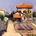 Gustave Caillebotte. La maison de l'artiste au Petit Gennevilliers (1883)