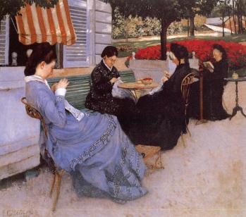 Gustave Caillebotte. Portraits à la campagne (1876)