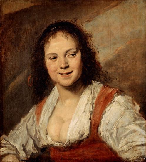 Hals. La Bohémienne (1628-30)