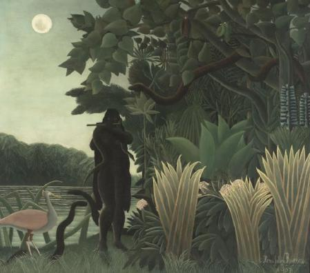 Henri Rousseau. La charmeuse de serpents (1907)