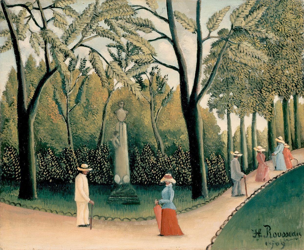 Biographie et uvre de henri rousseau dit douanier rousseau for Le jardin henri vinay
