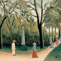 Henri Rousseau. Le jardin du Luxembourg (1909)