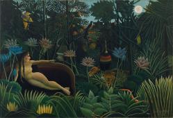 Henri Rousseau. Le rêve (1910)