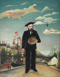 Henri Rousseau. Moi-même (1890)
