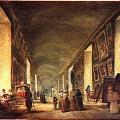 Hubert Robert. La Grande Galerie entre 1794 et 1796 (v. 1795)