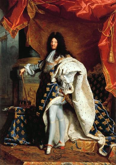 Hyacinthe Rigaud. Louis XIV (1701)