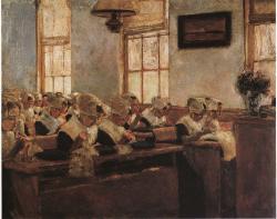 Liebermann. Ecole de couture en Hollande, 1876