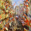 Claude Monet. La rue Montorgueil (1878)
