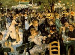 Renoir. Bal du Moulin de la Galette, 1876