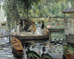 Renoir. La Grenouillère (1869)