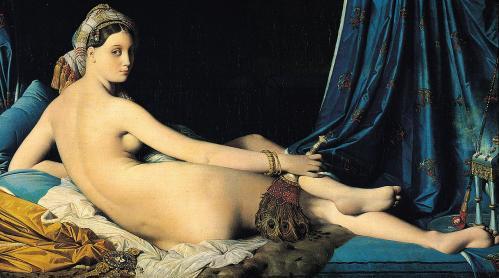 Ingres. La Grande Odalisque, 1814