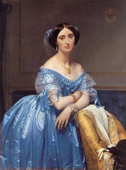 Ingres. Princesse Albert de Broglie (1853)