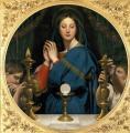 Ingres. Vierge à l'hostie (1854)