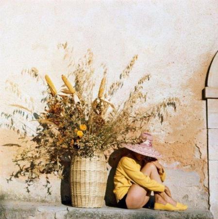 Jacques Henri Lartigue. Florette à Piozzo (1960)