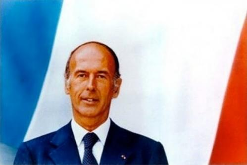 Jacques-Henri-Lartigue. Le Président Valéry Giscard d'Estaing (1974)