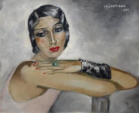 Jacques Henri Lartigue. Renée Perle (1930)