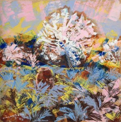 Jacques Henri Lartigue. Arbre en fleurs