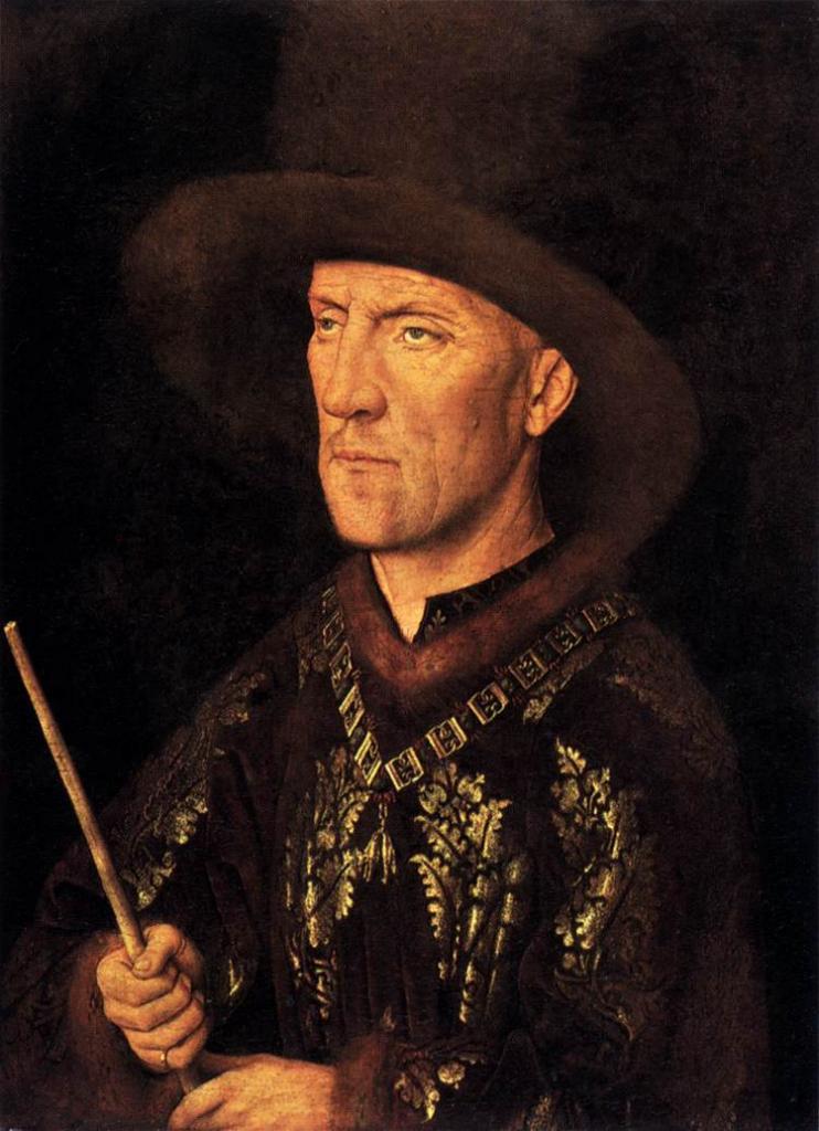 jan van eyck Jan van eyck man in a turban jan van eyck the 3/4 profile view remains the standard portrait pose in modern art while jan could.