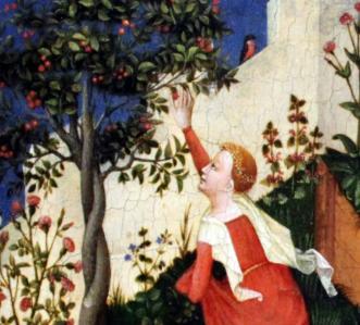 Jardin de Paradis. Cueillette des cerises