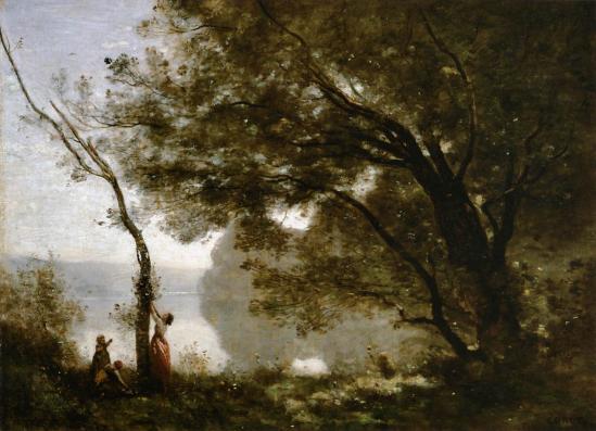 Jean-Baptiste Corot. Souvenir de Mortefontaine (1864)
