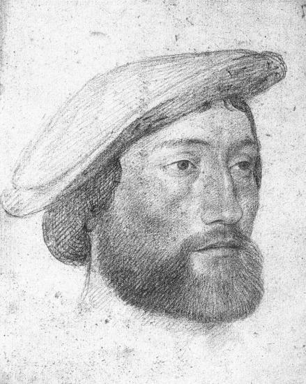 Jean Clouet. Portrait de Jean de Dinteville, Seigneur de Polisy (v. 1533)