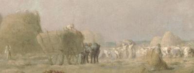 Jean-François Millet. Des glaneuses, détail
