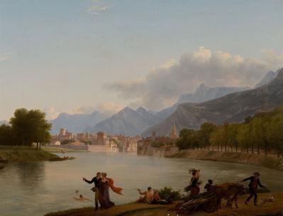 Jean-Joseph-Xavier Bidauld. Grenoble (v. 1790)