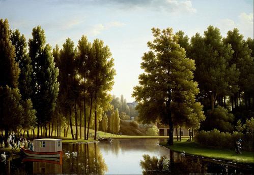 Jean-Joseph-Xavier Bidauld. Le parc à Mortefontaine (1806)