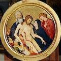 Jean Malouel. Grande Pietà ronde (v. 1400)
