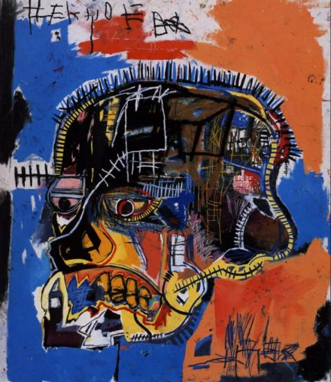 Jean-Michel Basquiat. Scull (1981)