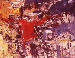 Jean-Paul Riopelle. Palais rustique (1957)