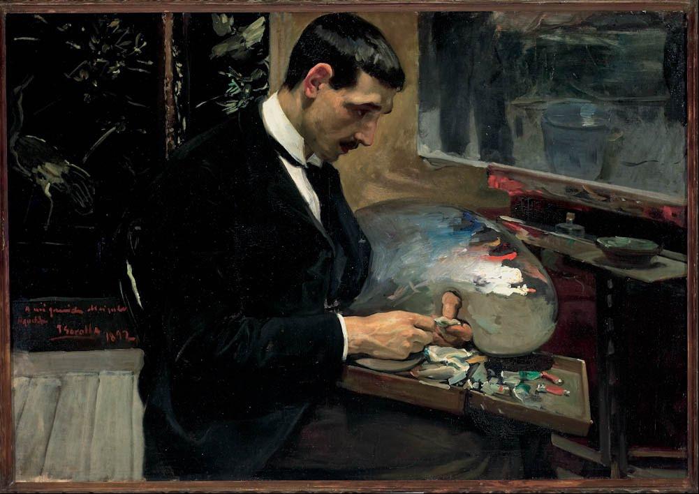 Biographie et uvre de joaqu n sorolla 1863 1923 for Oficina 1892 banco santander