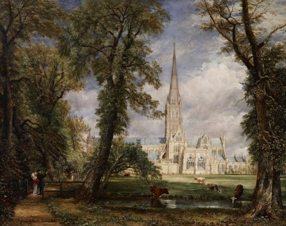 La Cathédrale De Salisbury (1826)