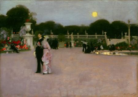 John Singer Sargent. Au Jardin du Luxembourg (1879)