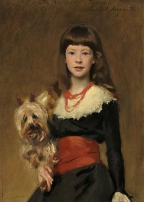 John Singer Sargent. Mlle  Beatrice Townsend (1882)