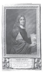Portrait gravé de José de Ribera