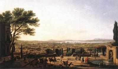 Joseph Vernet. La ville et la rade de Toulon (1756)