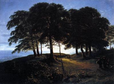 Karl Friedrich Schinkel. Matin (1813)