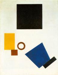 Kasimir Malevich. Autoportrait en deux dimensions (1915)