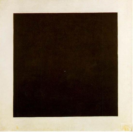 Kasimir Malevich. Carré noir sur fond blanc (1913)